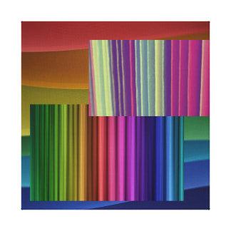 color sensation canvas print