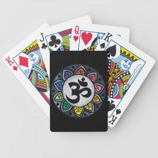 Color sereno cartas de juego