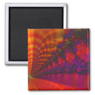 Color Sets The Mood 2 Inch Square Magnet