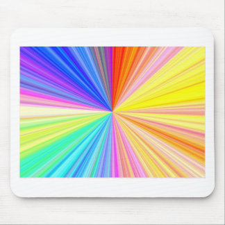 Color Shade Wheel - Rainbow Extreme Mouse Pad