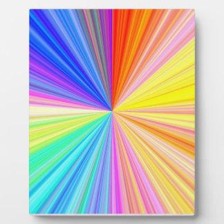 Color Shade Wheel - Rainbow Extreme Plaque