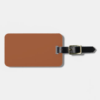 color sienna bag tag