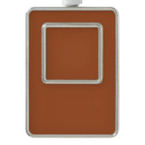 color sienna christmas ornament