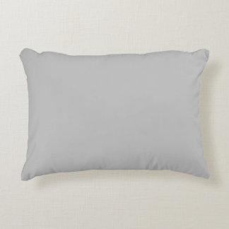 color silver accent pillow