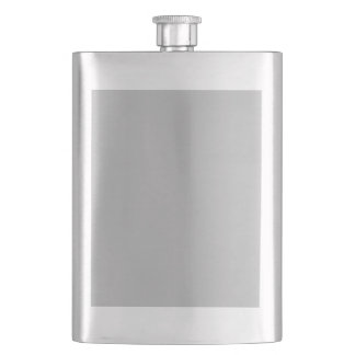 color silver flask