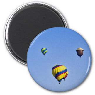 Color Skies 2 Inch Round Magnet