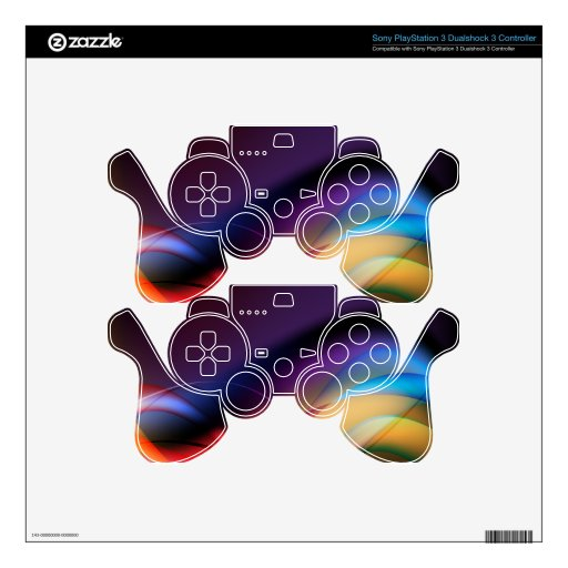 COLOR SKIN FOR PS3 CONTROLLER