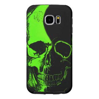 Color skull Layer Samsung Galaxy S6 Case