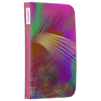 Color Slash Splash Fun Sassy Sissy Girly Abstract Case For The Kindle