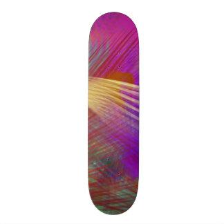 Color Slash Splash Fun Sassy Sissy Girly Abstract Skateboard