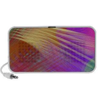 Color Slash Splash Fun Sassy Sissy Girly Abstract Travelling Speaker