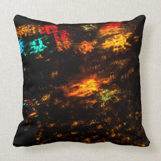 Color Slide 20X20 Grade A Cotton Throw Pillow