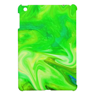 color smear green iPad mini case