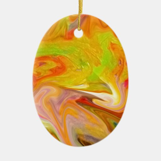 color smear ornaments