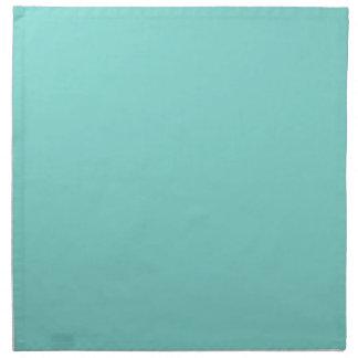 Color sólido: Aguamarina de la turquesa Servilleta De Papel