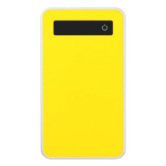 Color sólido amarillo del autobús escolar batería portátil