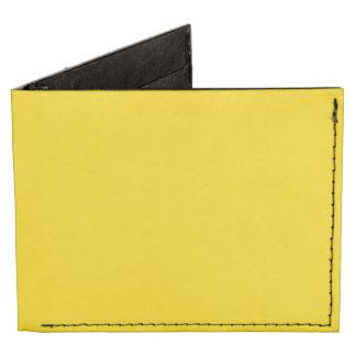 Color sólido amarillo del autobús escolar billeteras tyvek®