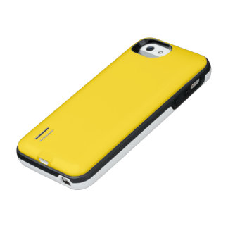 Color sólido amarillo del autobús escolar funda power gallery™ para iPhone 5 de uncommon