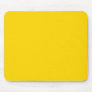 Color sólido amarillo del autobús escolar mousepads