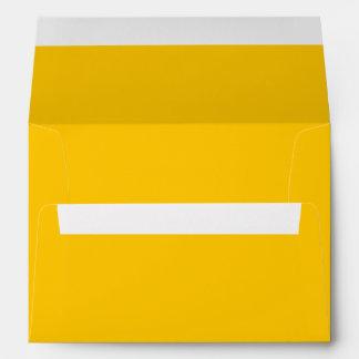 Color sólido ambarino sobres