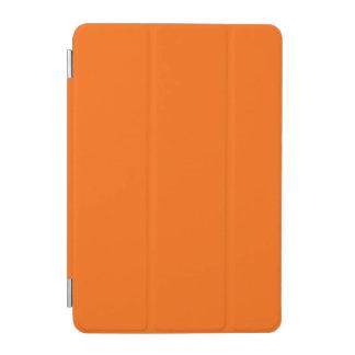 Color sólido anaranjado brillante cubierta de iPad mini