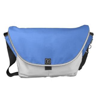 Color sólido azul del Cornflower Bolsa De Mensajería