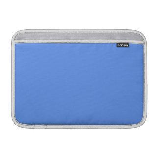 Color sólido azul del Cornflower Funda MacBook