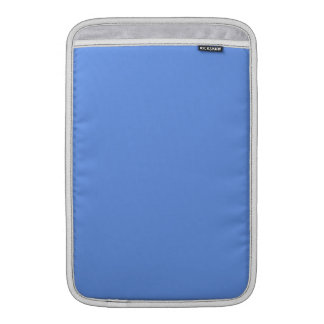 Color sólido azul del Cornflower Funda Para Macbook Air