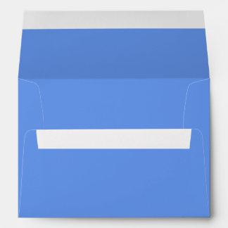 Color sólido azul del Cornflower Sobre
