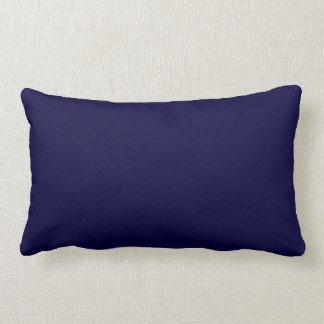 Color sólido: Azules marinos Almohadas