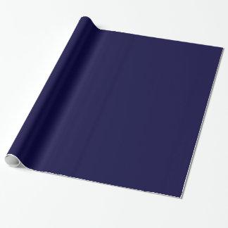 Color sólido: Azules marinos Papel De Regalo