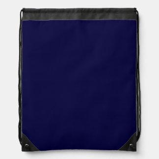 Color sólido: Azules marinos Mochila