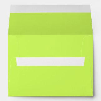 Color sólido chartreuse sobre