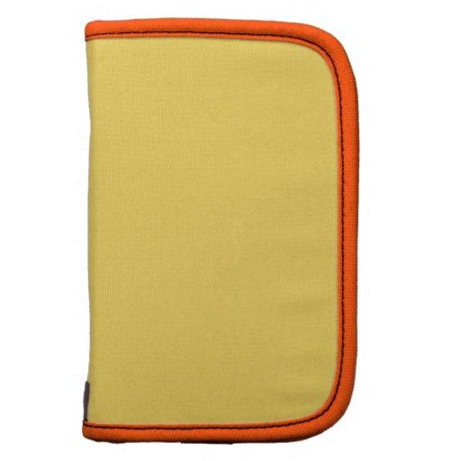 Color sólido de alta calidad anaranjado de Jonquil Planificador