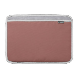 Color sólido de cobre funda macbook air