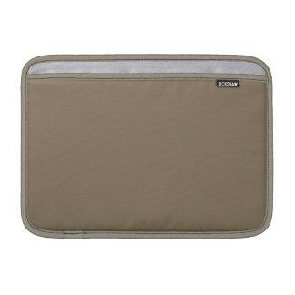 Color sólido de color topo fundas MacBook