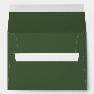 Color sólido de Forest Green Sobre