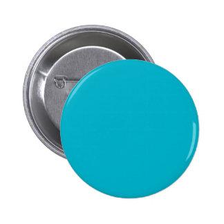 Color sólido de gama alta azul del equipo de pin redondo 5 cm