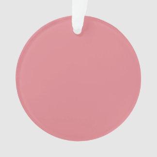 Color sólido de gama alta rosado de la fresa