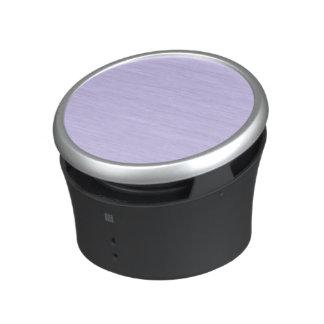 Color sólido de la lila altavoz bluetooth