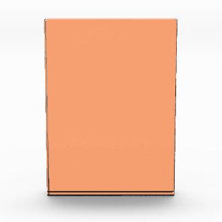 Color sólido de la mandarina