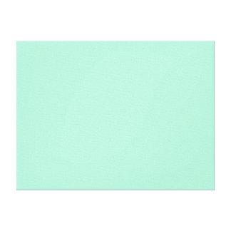 Color sólido de la menta impresión en lona estirada