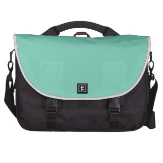 Color sólido de la primavera 2015 verdes del bolsa de ordenador