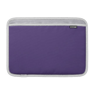 Color sólido de la uva fundas para macbook air
