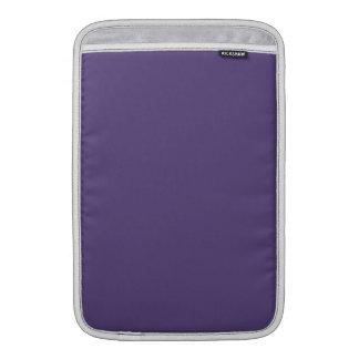 Color sólido de la uva fundas macbook air