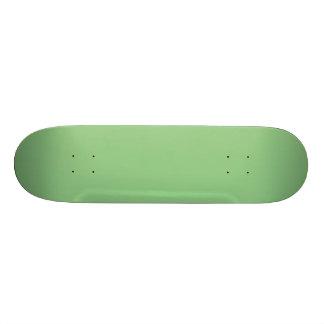 Color sólido de la verde menta fresca brillante de monopatines personalizados