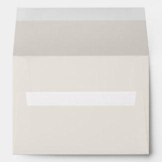 Color sólido del alabastro sobres
