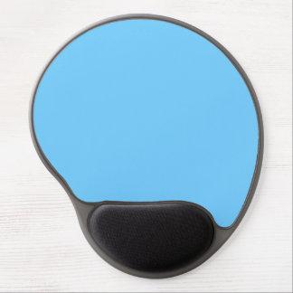 Color sólido del azul de cielo alfombrilla de ratón con gel
