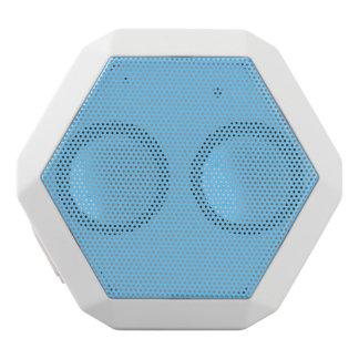 Color sólido del azul de cielo altavoces bluetooth blancos boombot REX