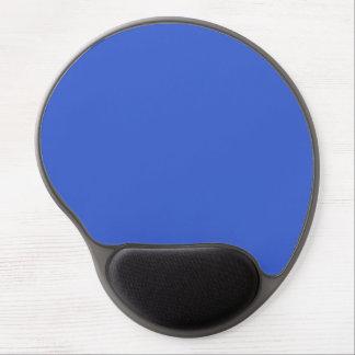 Color sólido del azul real alfombrillas con gel